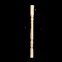 Borovi fenyő esztergált köztes korlát oszlop 90 cm x 4,4 cm x 4,4 cm