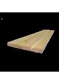Akác homloklap 130 cm x 20 cm x 1,7 cm