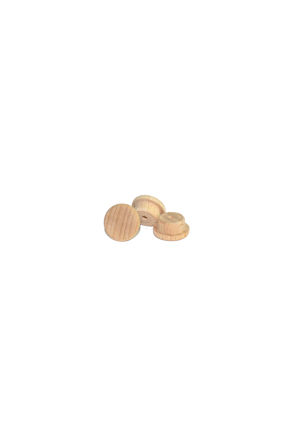 Bükk csavartakaró ⌀ 15 mm (10 db)