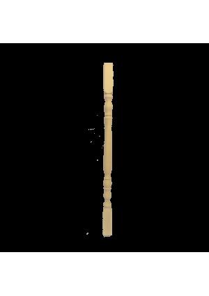 Bükk esztergált köztes korlát oszlop 90 cm x 4,4 cm x 4,4 cm