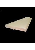Bükk homloklap 130 cm x 20 cm x 1,7 cm