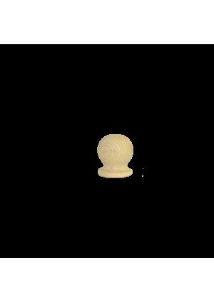 Bükk oszlopvég 7 cm x ⌀ 7 cm