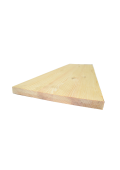 Borovi fenyő homloklap 130 cm x 20 cm x 1,7 cm