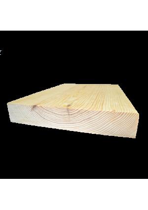 Borovi fenyő lépcsőlap  80 cm x 28 cm x 3 cm