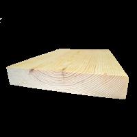 Borovi fenyő lépcsőlap forduló, 4 cm vastag (egyeztetés után)