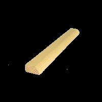 D1 díszléc 220 cm x 2 cm x 1 cm (egy oldalon kerekített)