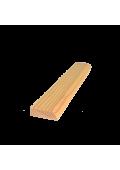 D1 díszléc 220 cm x 3 cm x 1 cm (egy oldalon kerekített)