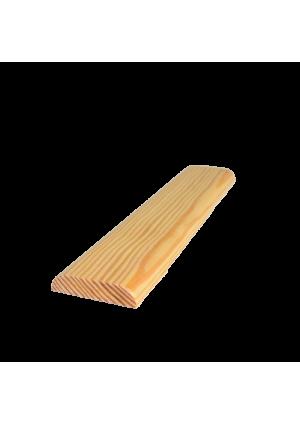 D2 díszléc 220 cm x 4,5 cm x 1 cm (két oldalon kerekített)
