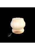 Fenyő bútorláb 7 cm x ⌀ 8 cm