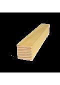 Gyalult léc (v04) 220 cm x  1 cm x 1 cm - szegőléc