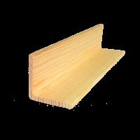 Kerekített pipaléc 220 cm x 4 cm x 4 cm