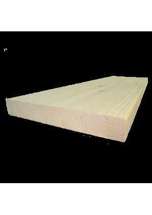 Lucfenyő lépcsőlap 110 cm x 28 cm x 4 cm