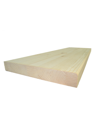 Lucfenyő lépcsőlap  80 cm x 28 cm x 4 cm
