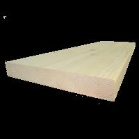 Lucfenyő lépcsőlap  90 cm x 28 cm x 4 cm