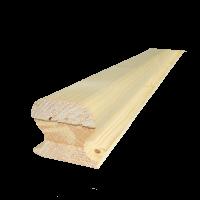 Borovi fenyő omega kapaszkodó 300 cm x 6,5 cm x 4,5 cm