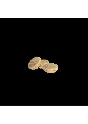 Tölgy csavartakaró ⌀ 25 mm (10 db)