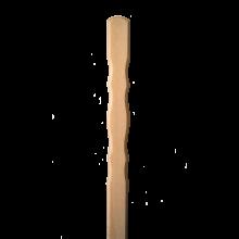 Tölgy kerítésléc (10 db, mintás) 120 cm x 8,7 cm x 2 cm