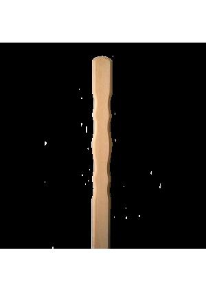 Tölgy kerítésléc (10 db, mintás) 140 cm x 8,7 cm x 2 cm