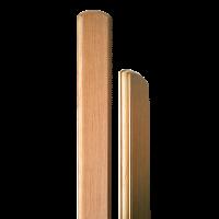 Tölgy kerítésléc (10 db, egyenes) 120 cm x 8,7 cm x 2 cm