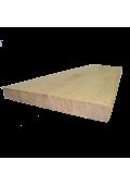 Tölgy lépcsőlap 300 cm x 28 cm x 3 cm (hossztoldott)