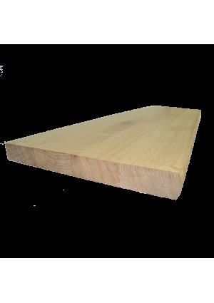 Tölgy lépcsőlap  80 cm x 28 cm x 3 cm