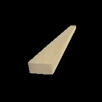 Tölgy talpfa 300 cm x 7 cm x 3 cm