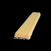Trapéz ajtószegőléc 220 cm x 3,5 cm x 1 cm - szegőléc